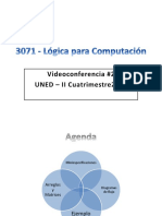 Presentación Videoconferencia 3071 - II