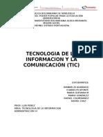 Tecnologia de La Informacion y Comunicación