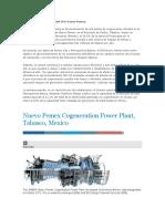 2 TERCER TREN Planta de Cogeneración Del CPG Nuevo Pemex