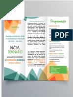 Brochure Seminario