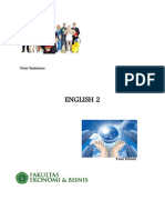 Handout Bahasa Inggris II