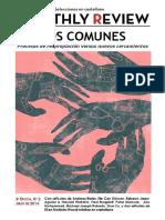 2016 - Monthly Review - Los Comunes. Procesos de Reapropiación vs Nuevos Cercamientos