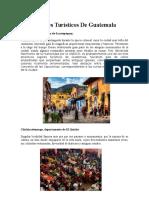 Lugares Turísticos De Guatemala.docx