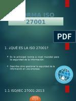 Diapositivas ISO 27001