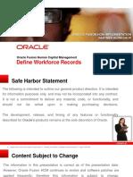 17-Define Workforce Records