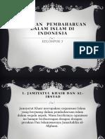 Gerakan Pembaharuan Dalam Islam Di Indonesia