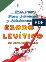 Desafios Para Jóvenes y Adolescentes Éxodo y Levitico.
