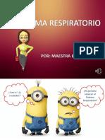 Sistema Respiratorio 1º