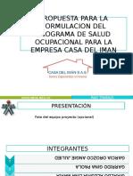 Modelo de Presentacion Del Proyecto Final CD