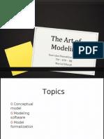 2 the Art of Modelling