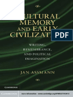 Jan Assmann-Cultural Memory and Early Civilization_ Writing, Remembrance, and Political Imagination-Cambridge University Press (2011).pdf