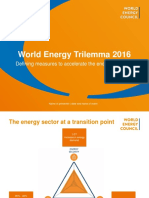 World Energy Trilemma 2016 Presentation