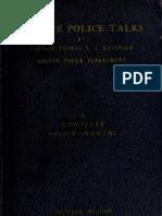 (1937) Minute Police Talks
