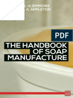 The Handbook of Soap Manufacture by H. a. Appleton