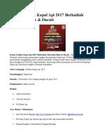 Promo Undian Kapal API 2017 Berhadiah Mercedez Benz