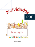 actividades fonologia