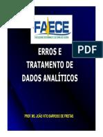 Aula Erros e Tratamento de Dados