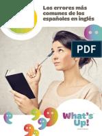 eBook Whatsup Ejercicios Errores Comunes