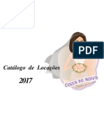 Catálogo de Locações Coisa de Noiva 2017