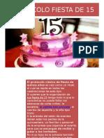 Protocolo Fiesta de 15