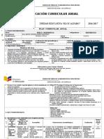 Plan Curricular Anual Ribott 2016-2017