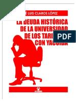 La Deuda Historica de Tarija Con Yacuiba