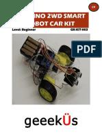 Arduino 2wd Smart Robot Car Kit En