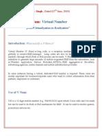 Virtual Number- Long Code