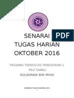 TUGASAN HARIAN PTP 2 PKG