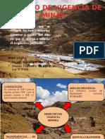 Derecho y Regalias Mineras