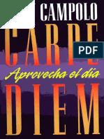 Tony Campolo - Carpe Diem, Aprovecha El Dia