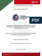 Tejero Chavez Carolina Propuesta Enseñanza Aprendizaje