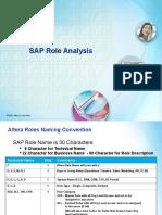 Roles Analysis