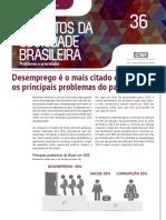 Pesquisa CNI IBOPE Problemas e prioridades dos brasileiros (Fev 2017)