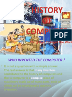 History of Computers (4 Periods)