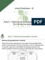 Sistemas Produtivos