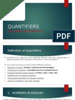 Quantifiers - Grammar i