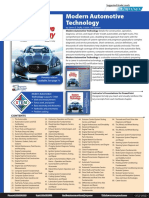 Modern Automotive Technology Flyer and Order Form