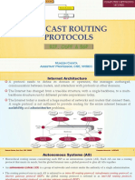 Unicast Routing Protocols - RIP, OSPF and BGP