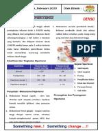 Info Sehat Hipertensi