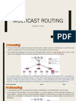 Multicasting and Multicast Protocols