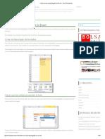 Celda Con Lista Desplegable en Excel - Excel Avanzado