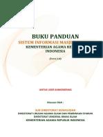 Buku Panduan Simas 2014 Depag Kankemenag