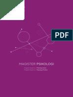 Program Magister Psikologi