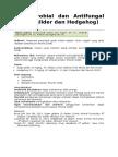 Antibiotik sugar glider dan hedgehog