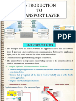 Transport Layer - Mukesh