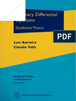 (Graduate Studies in Mathematics) Luis Barreira, Claudia Valls-Ordinary Differential Equations_ Qualitative Theory-American Mathematical Society (2012)