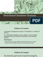 DDBMS Failure and Recovery