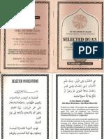 Selected Dua's