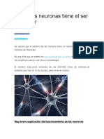 ¿Cuántas neuronas tiene el ser humano.docx